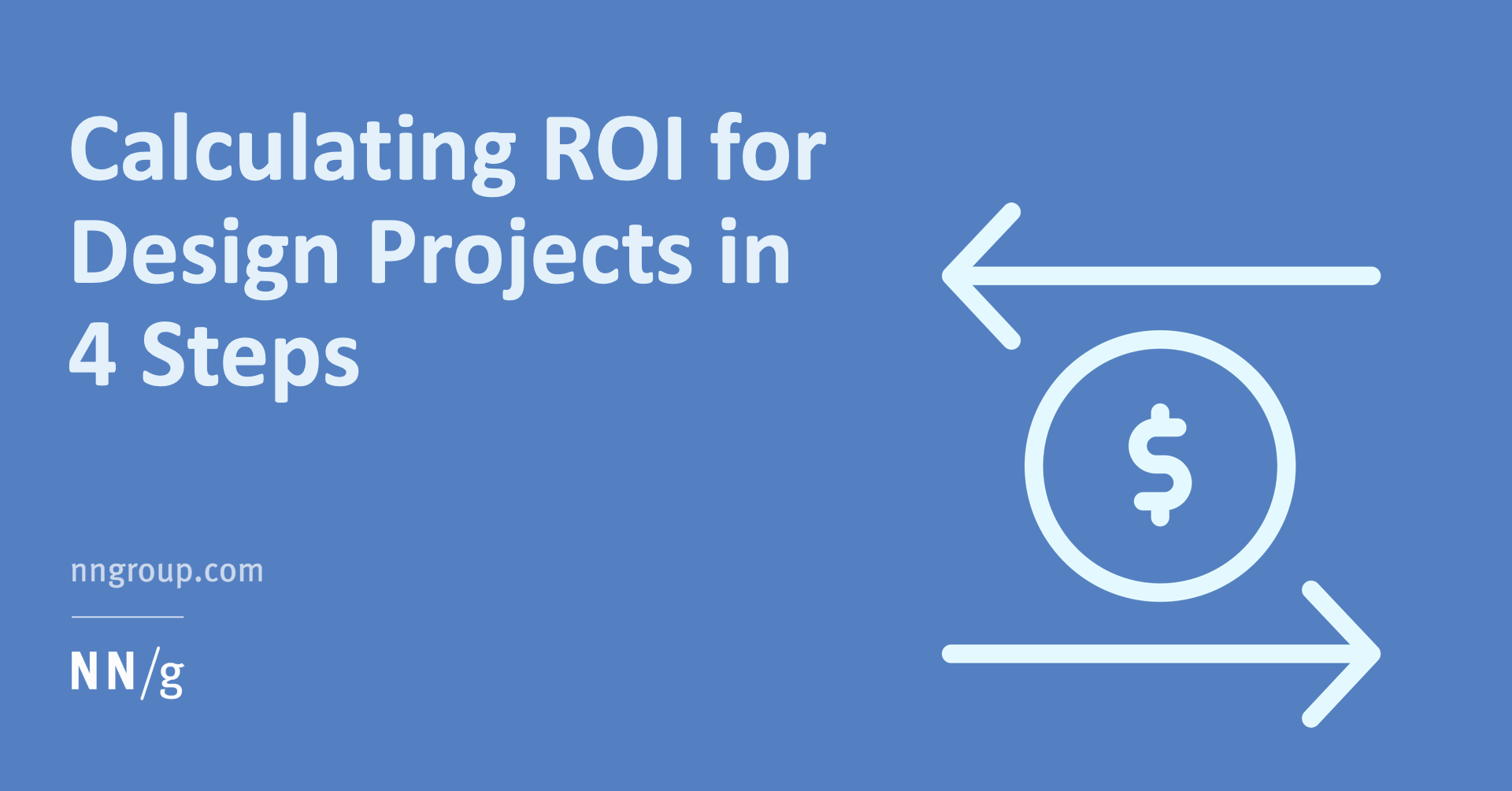 Calculating ROI for Design Projects in 4 Steps