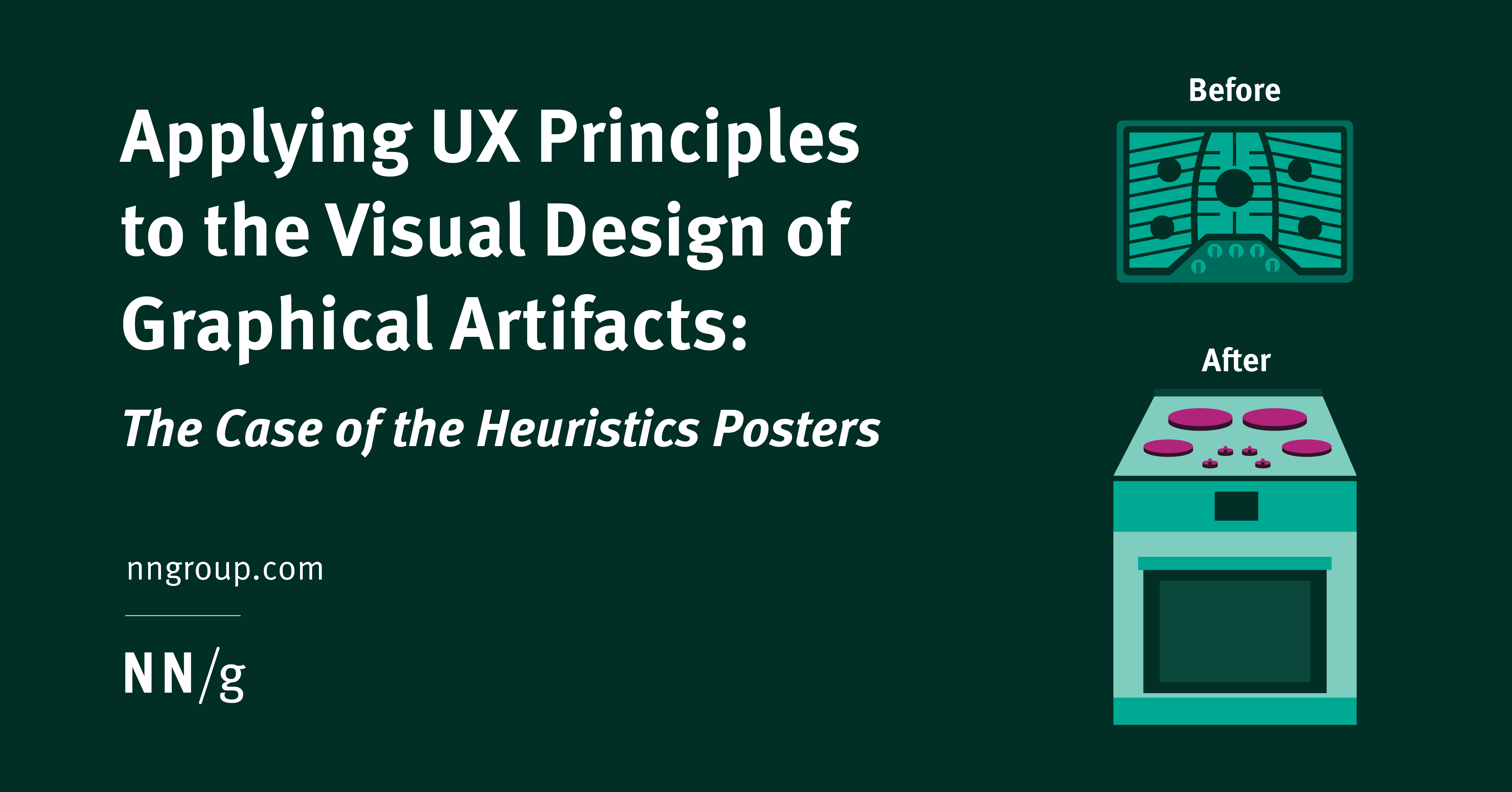 Applying UX Principles to the Visual Design of Graphical Artifacts: The Case of the Heuristics Posters