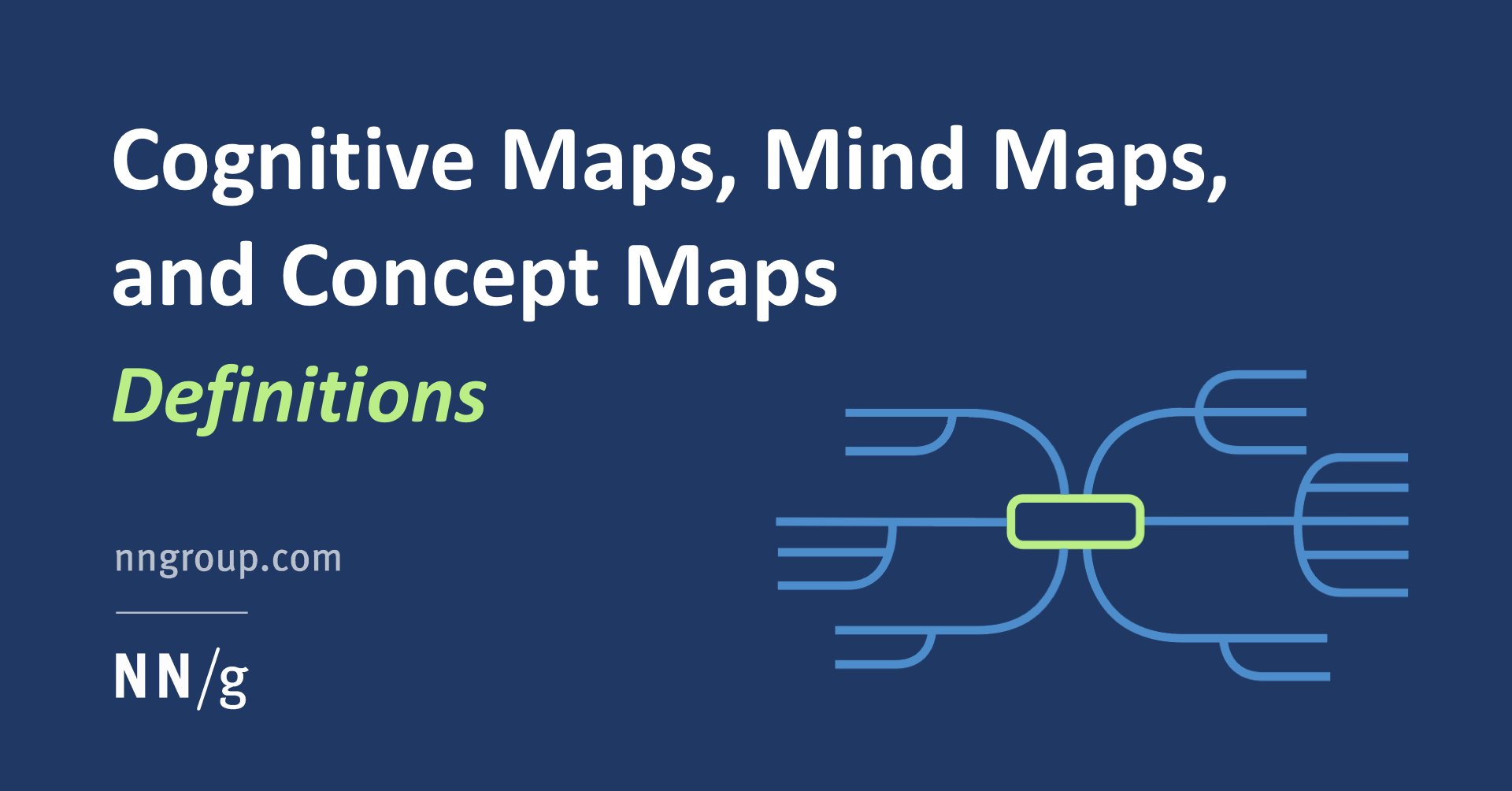Cognitive Maps, Mind Maps, and Concept Maps: Definitions