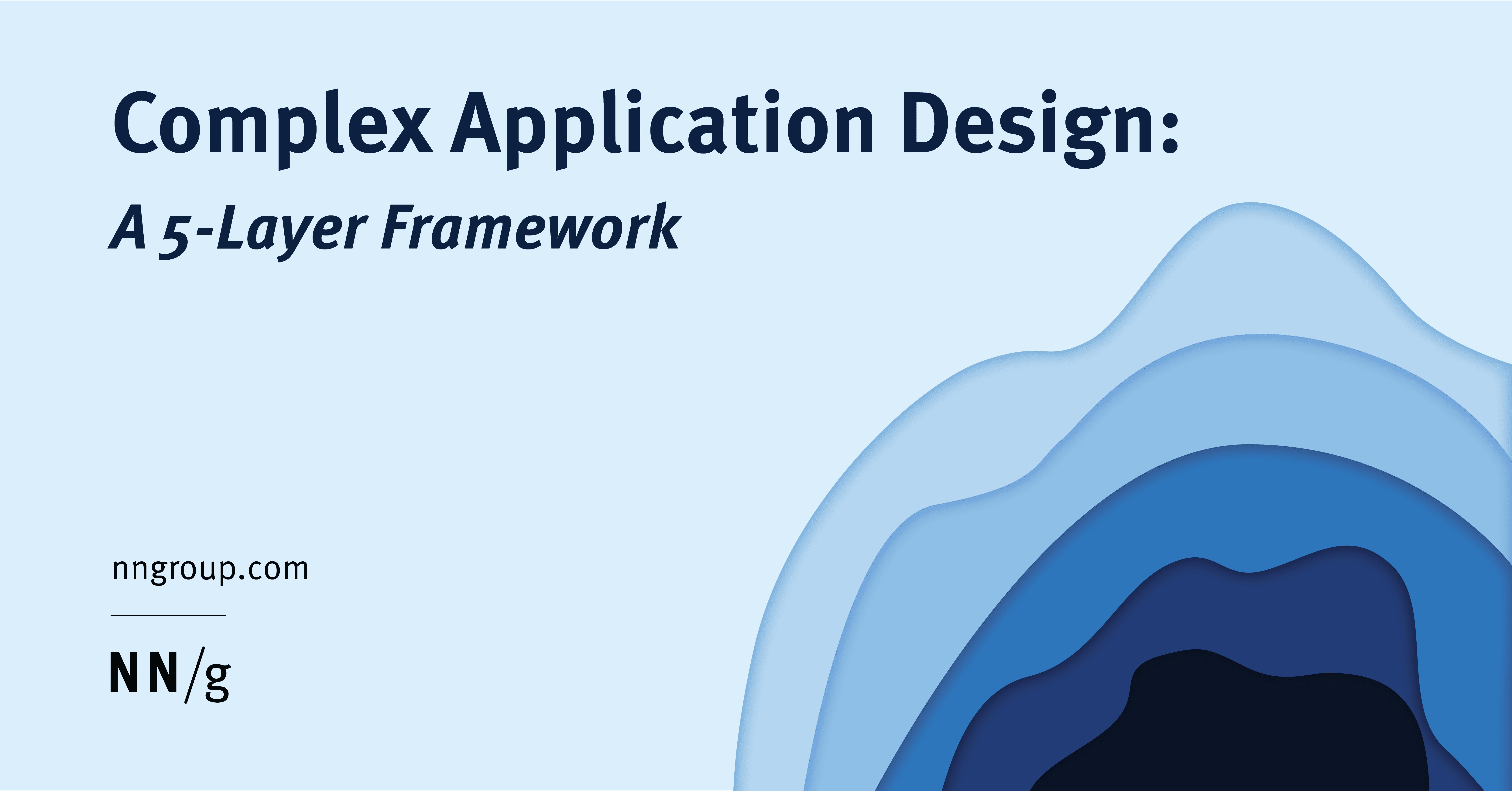 Application Complexity A 5 Layer Framework