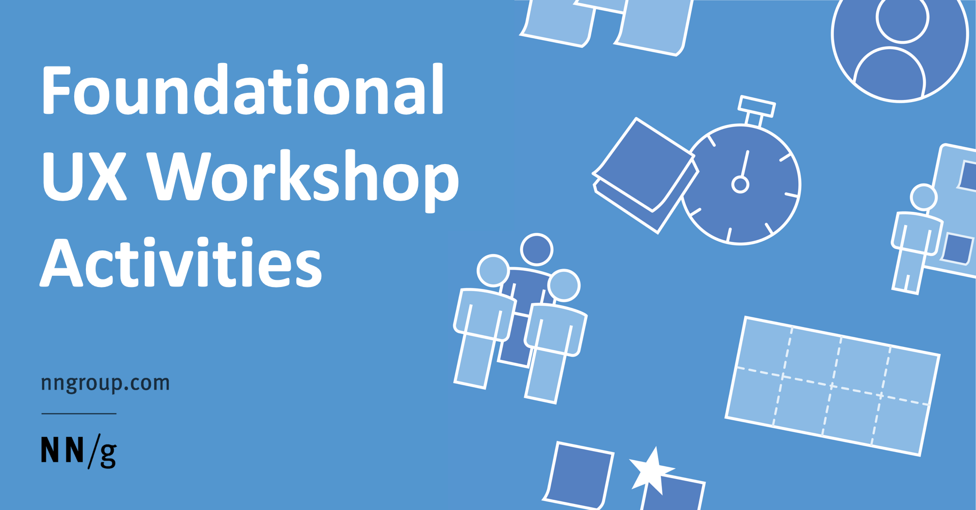 Foundational UX Workshop Activities