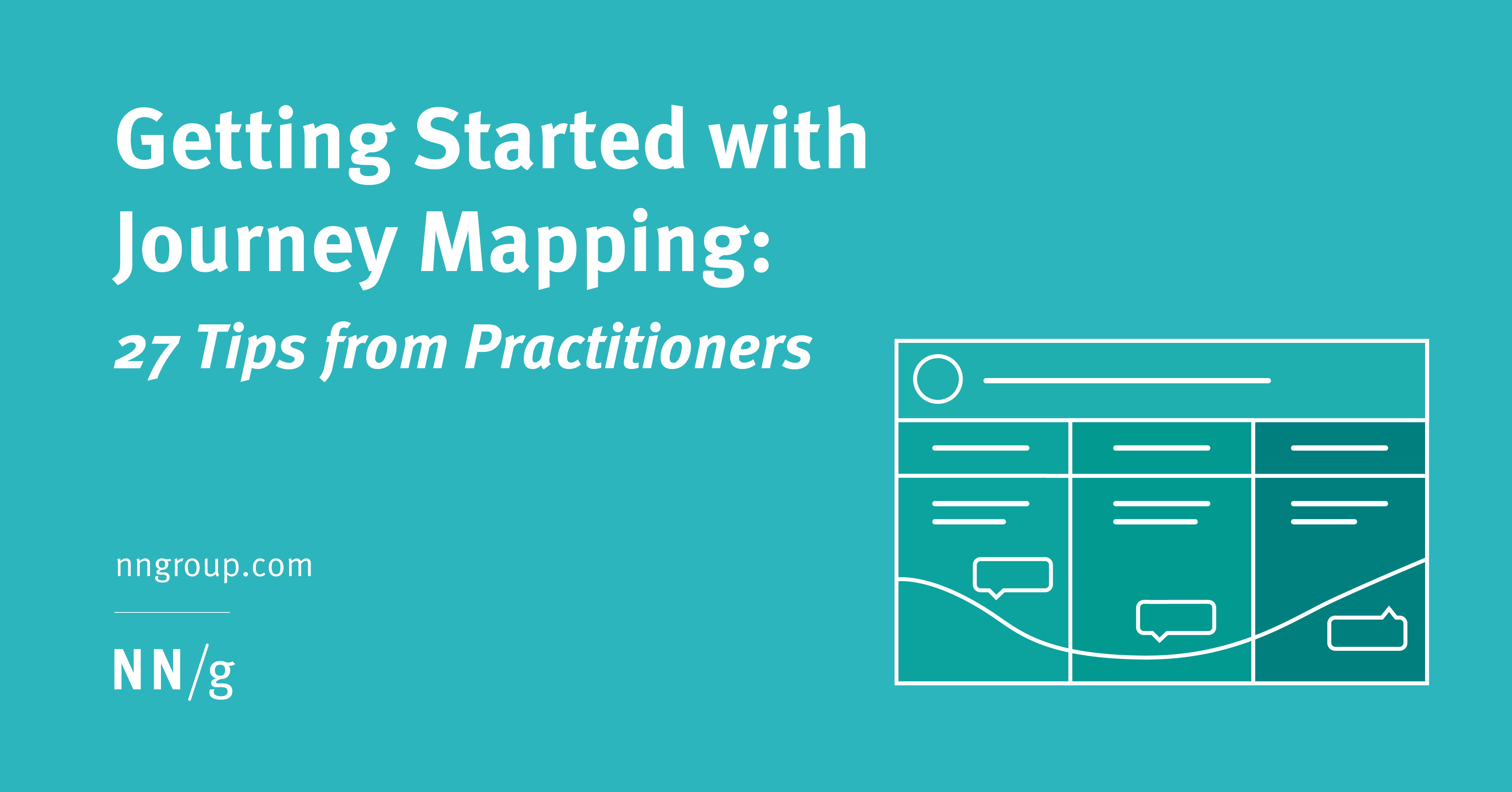 Getting Started with Journey Mapping: 27 Tips from Practitioners