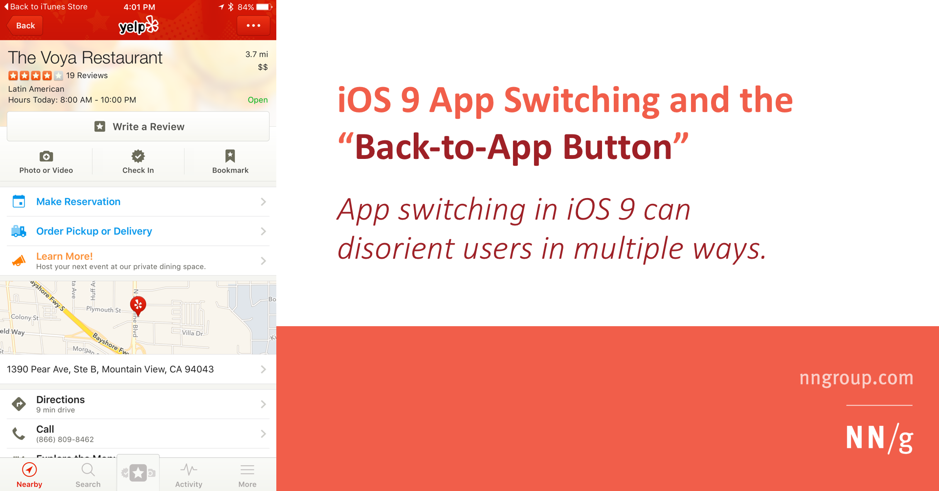 iOS 9 App Switching and the Back-to-App Button