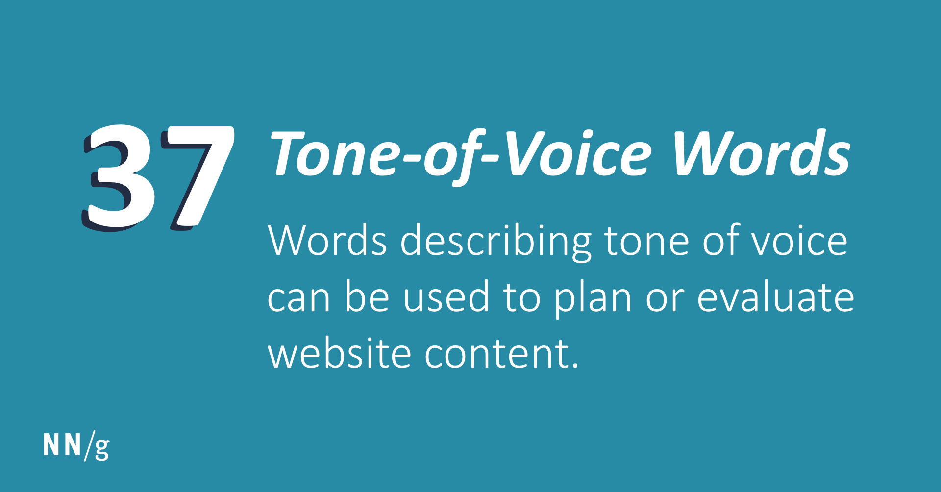Tone-of-Voice Words