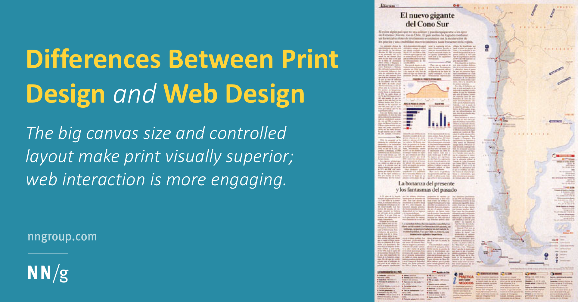 Differences Between Print Design and Web Design