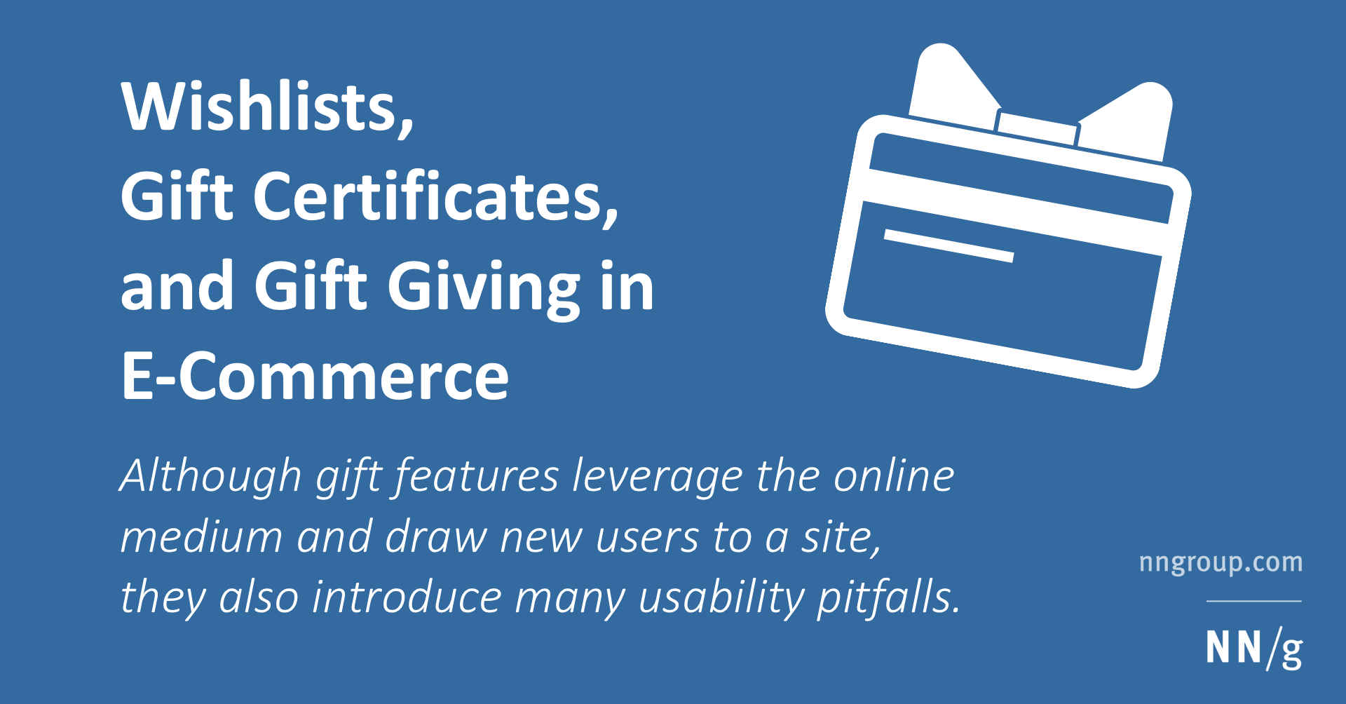 Wishlists Gift Certificates And Gift Giving In E Commerce