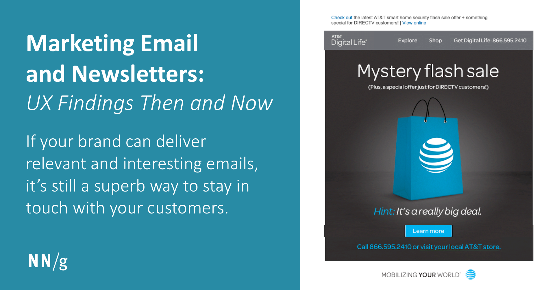 Marketing Email and Newsletters: UX Findings Then and Now