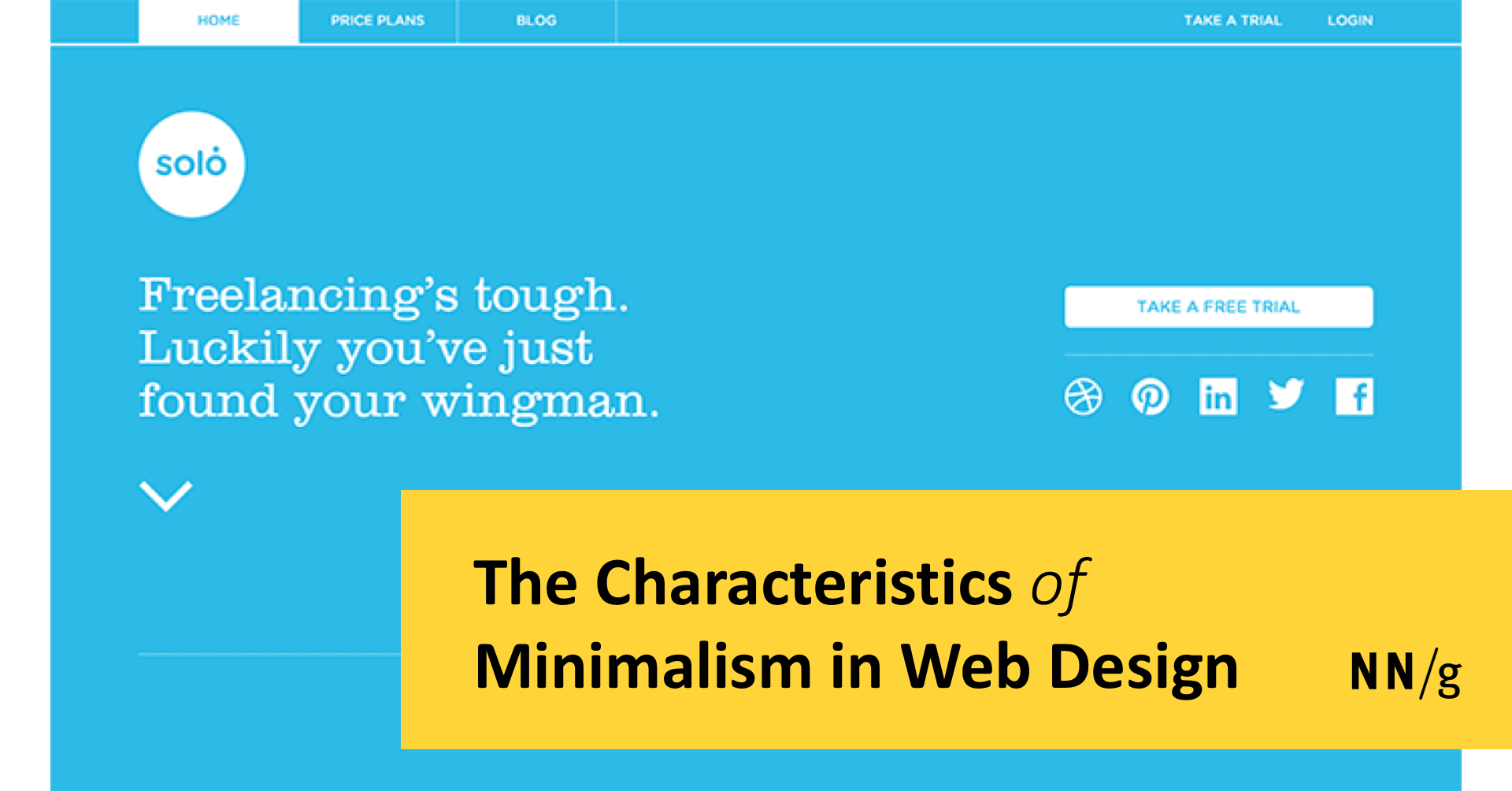 The Characteristics Of Minimalism In Web Design,Online Classes Background Design