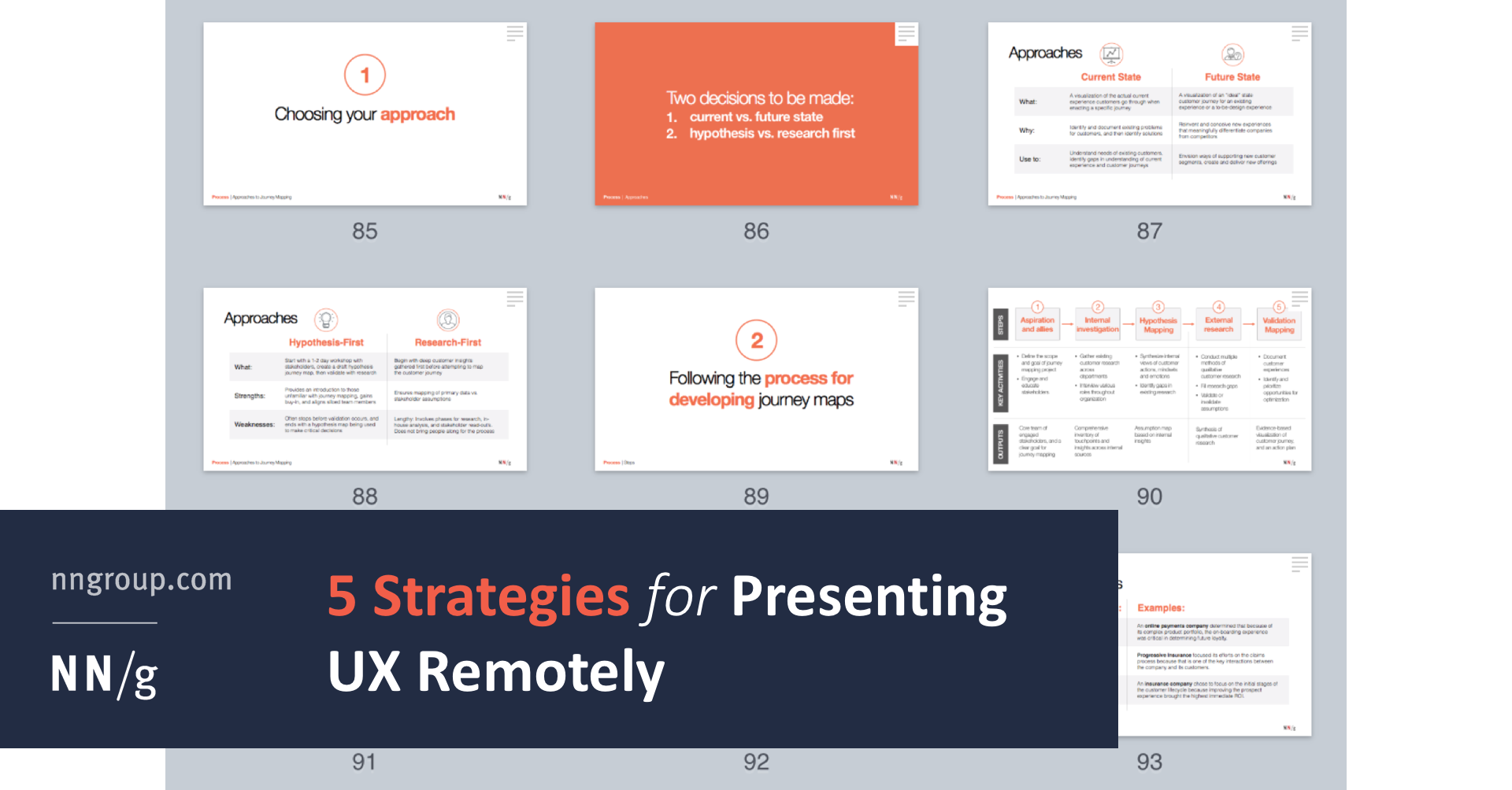 5 Strategies for Presenting UX Remotely