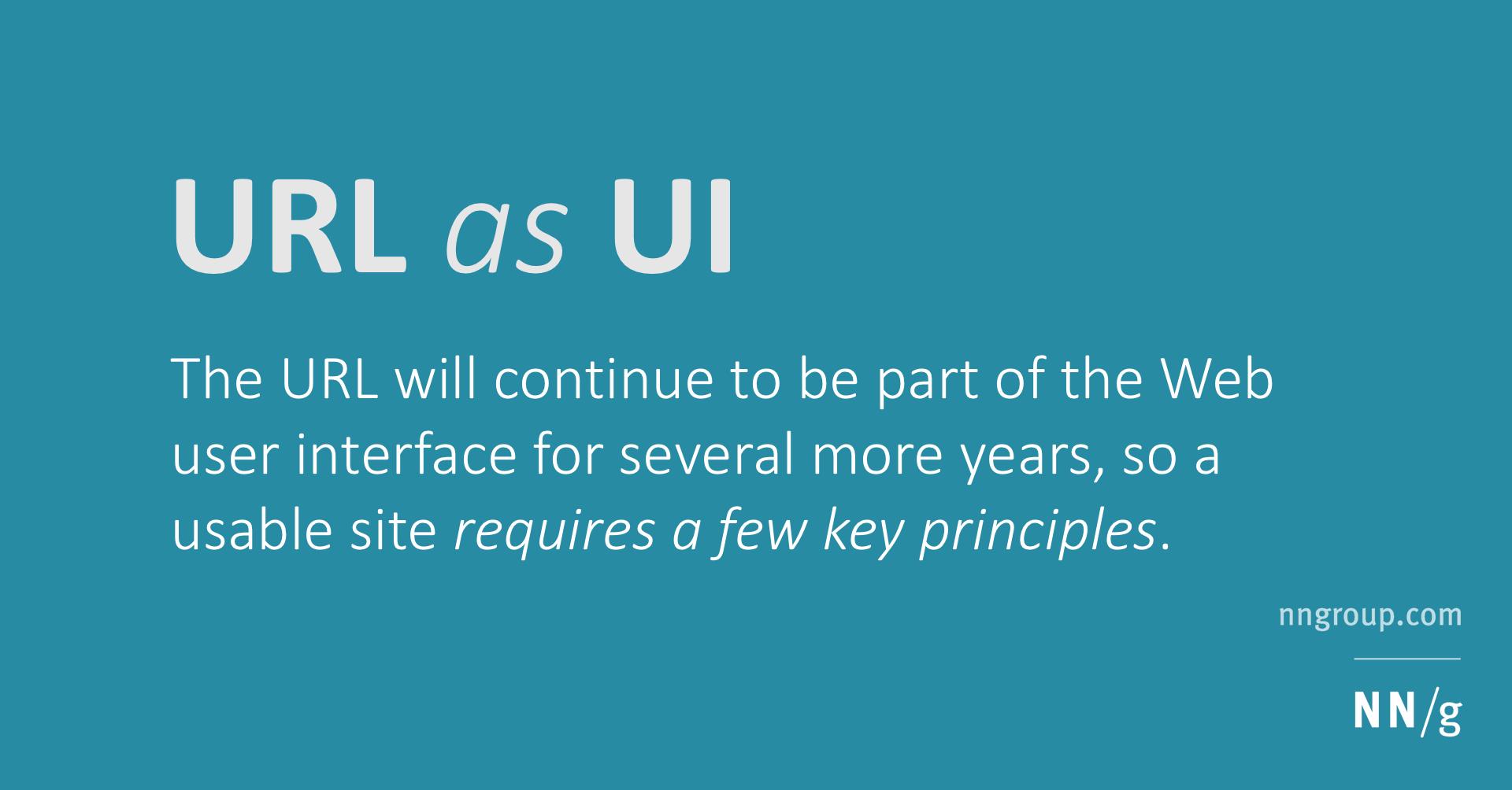 URL as UI