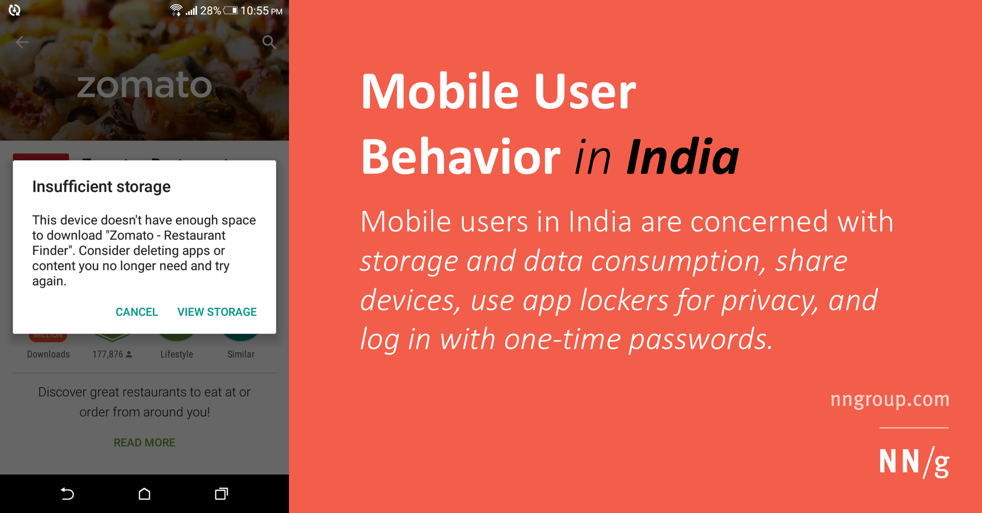Mobile User Behavior in India