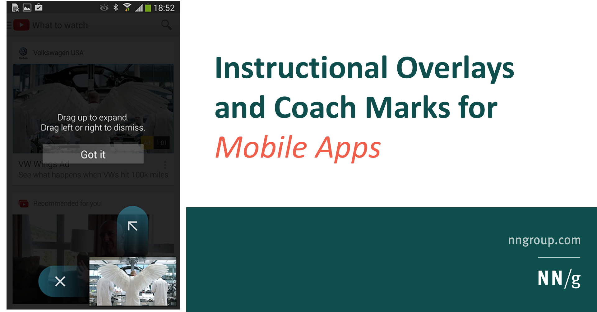 Instructional Overlays and Coach Marks for Mobile Apps