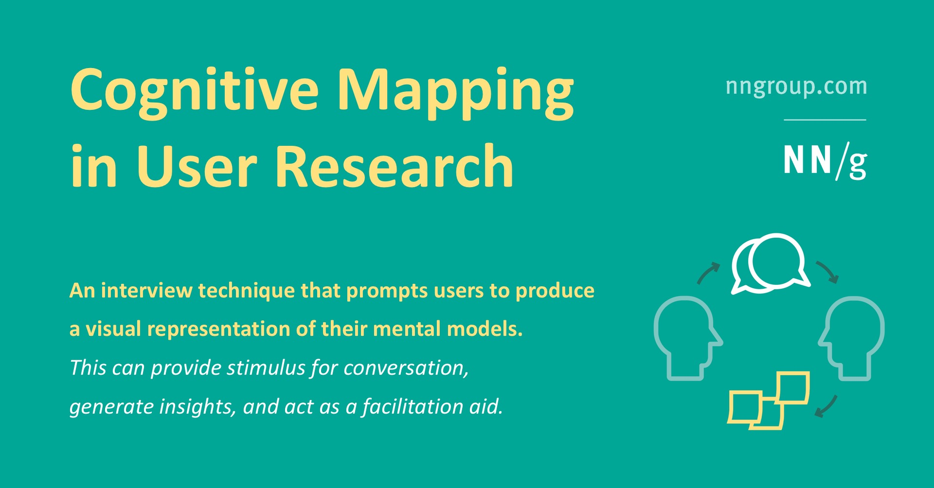 Cognitive Mapping in User Research
