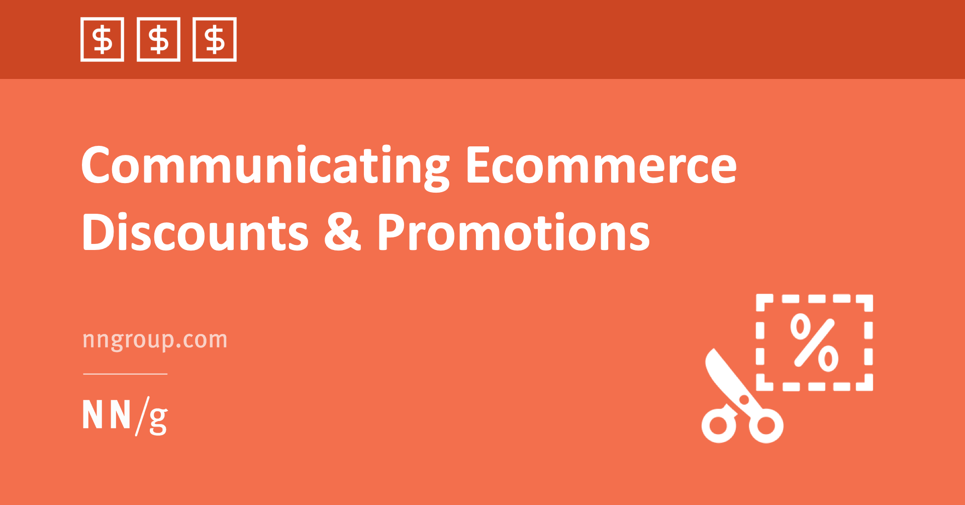 Communicating Ecommerce Discounts and Promotions