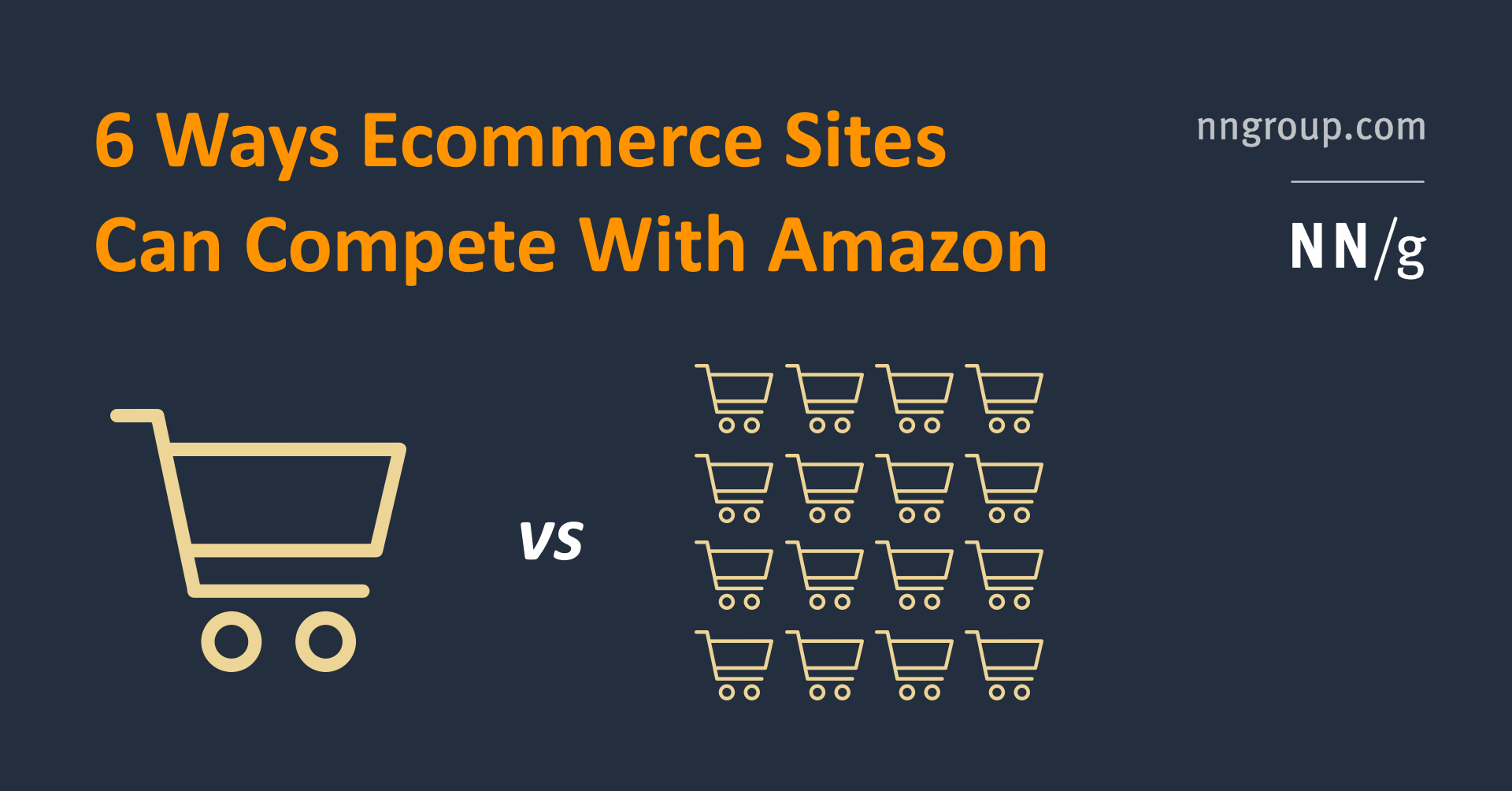 6 Ways Ecommerce Sites Can Compete With Amazon