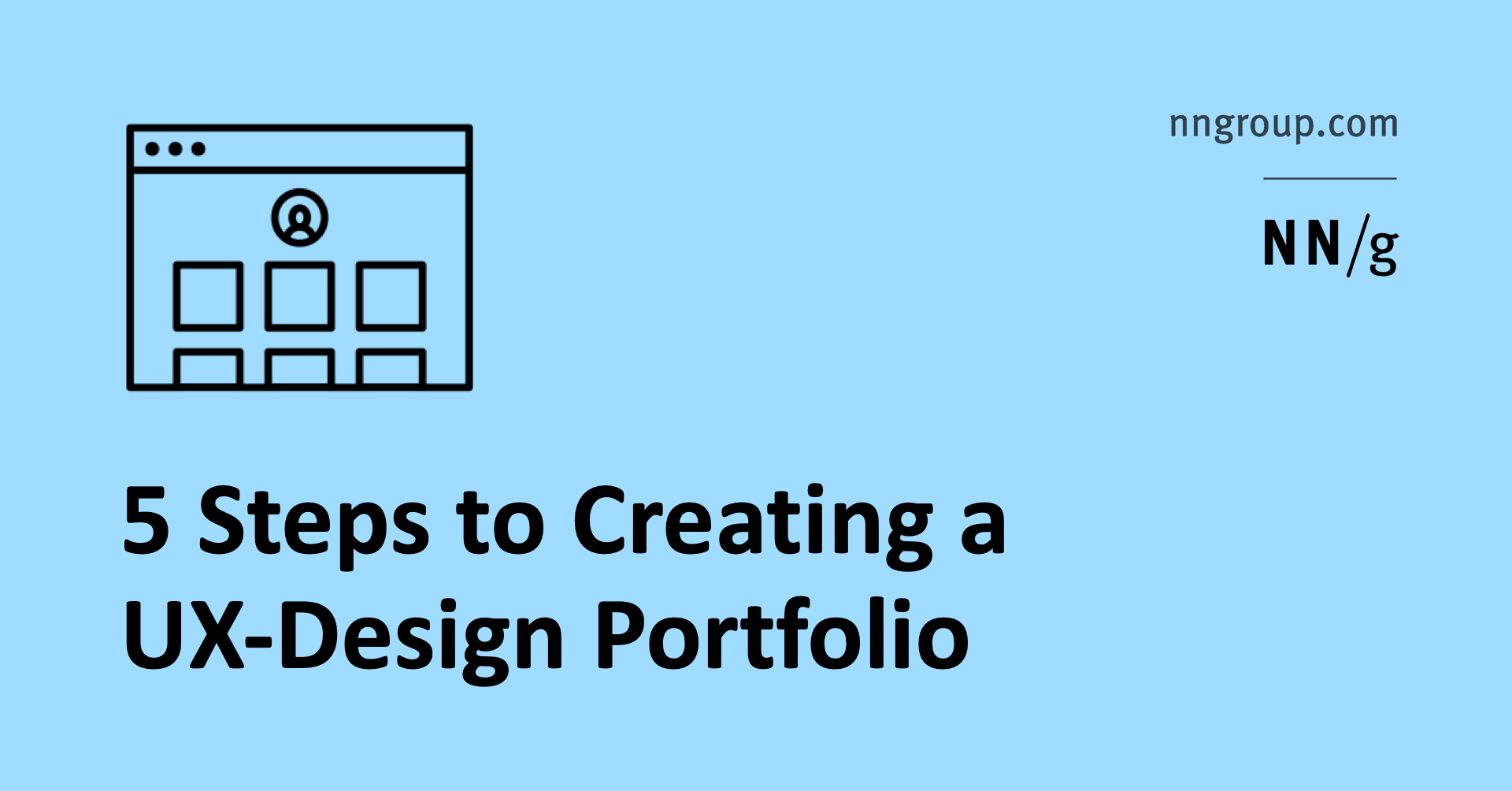 5 Steps To Creating A Ux Design Portfolio