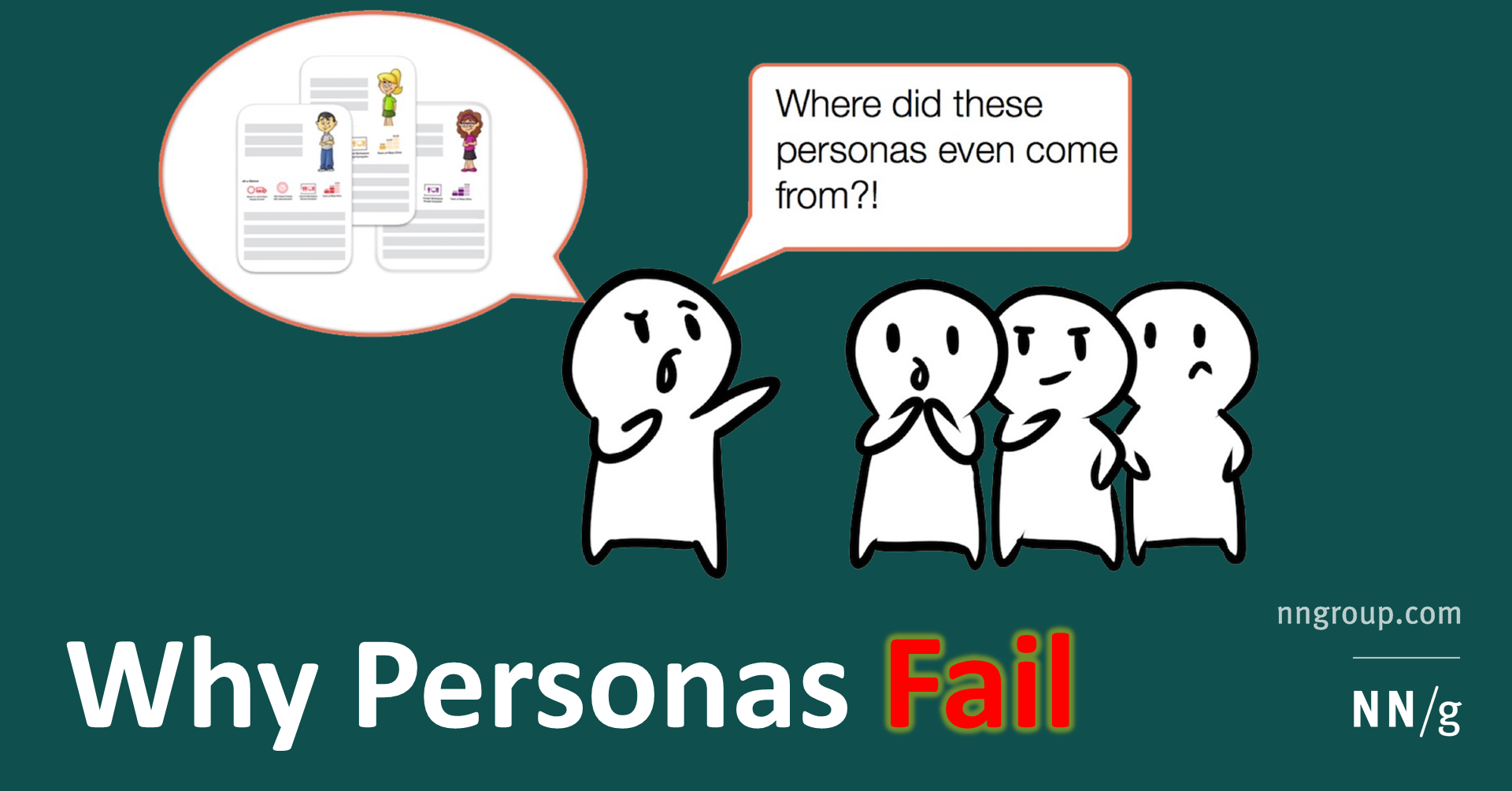 Why Personas Fail