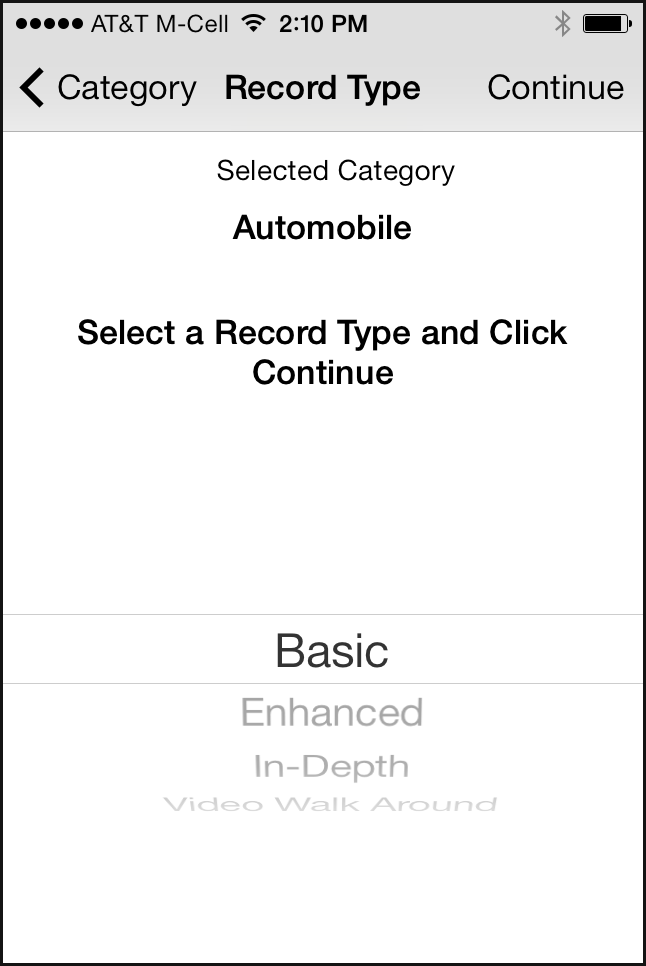 Mobile Inspect for iPhone