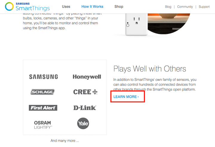 Smartthingscom Learnmore Learn More Links You Can Do Better