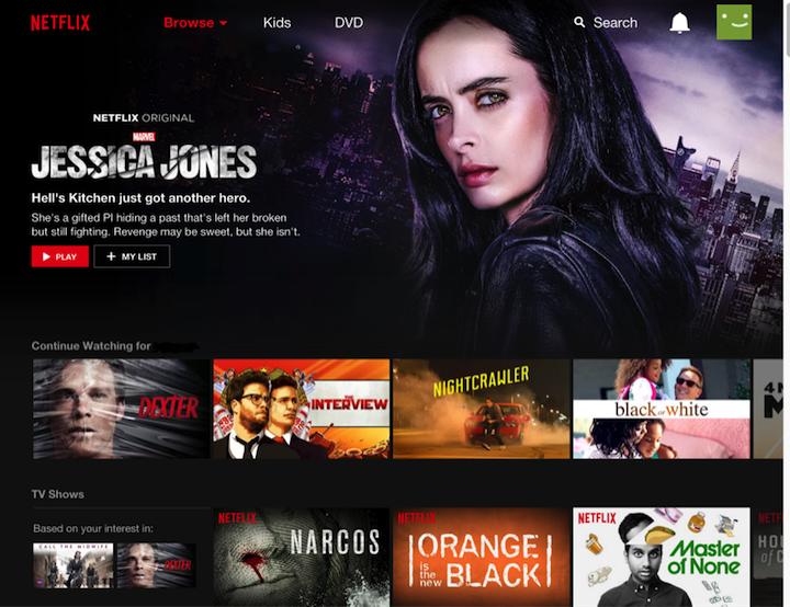 Netflix Carousel