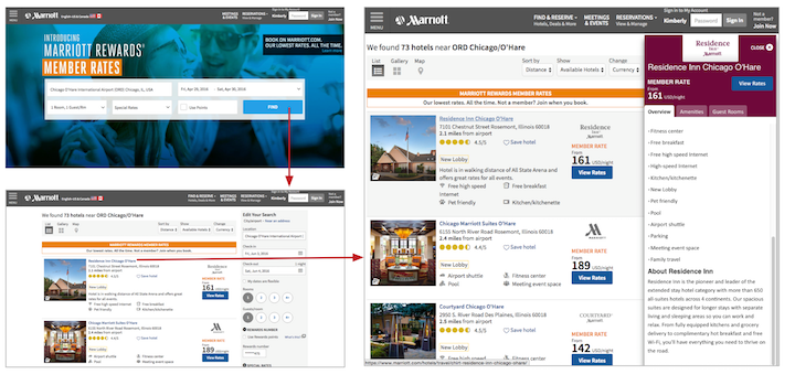 Tablet problems consistency in the omnichannel experience for Tablet hotel booking