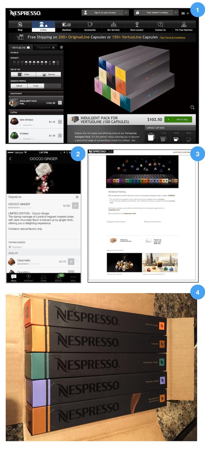Nespresso一致性