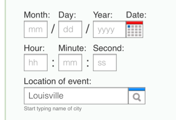 Date-Input Form Fields: UX Design Guidelines