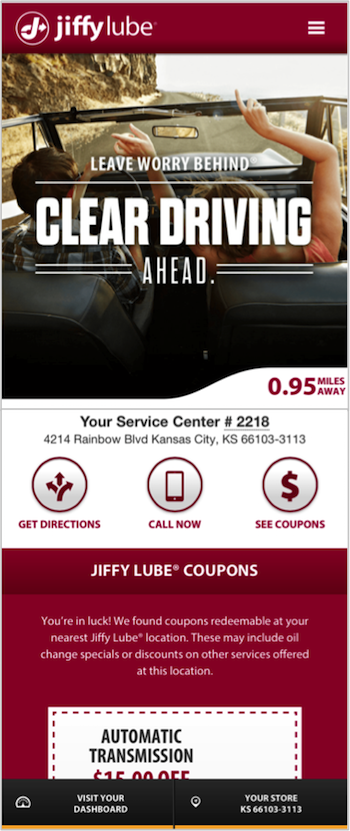Lube n go coupons