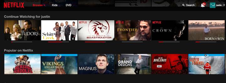Netflix恢复任务