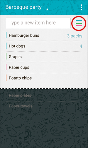 Screenshot of Buy Me a Pie Android mobile app