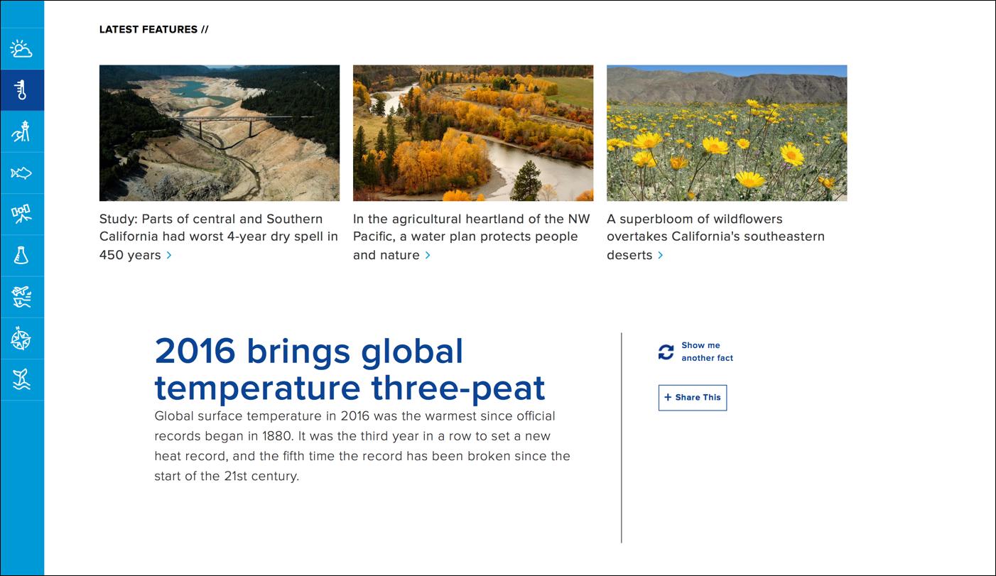 NOAA.gov的抛光视觉设计manbetx官方网站手机版