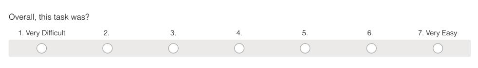单一轻松问题评定量表