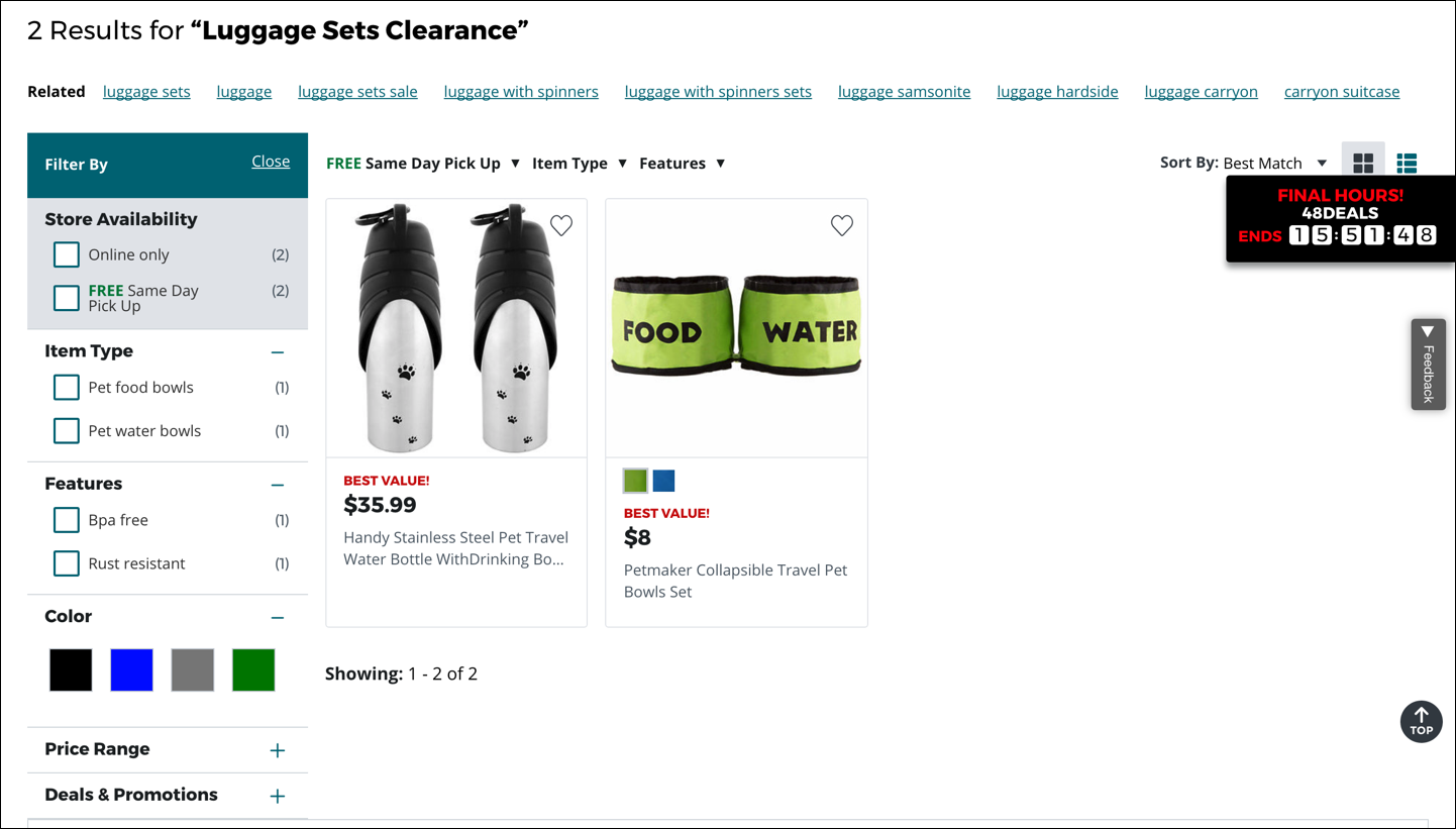 /Users/kate/Dropbox/Reports/Ecommerce--Search/report-screenshots/jcpenney-luggage-sets-clearance.png