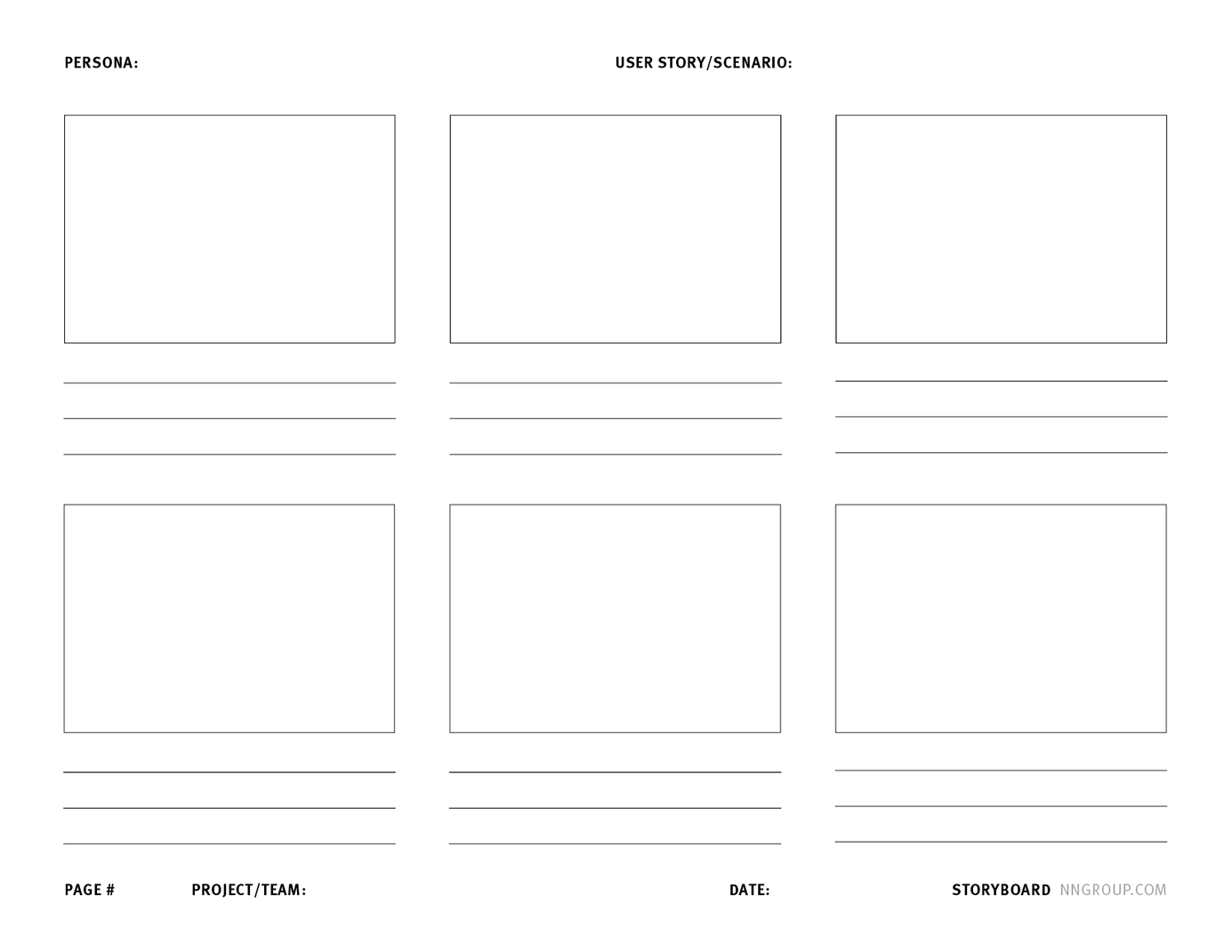 Storyboard template app images professional report for Storyboard template app