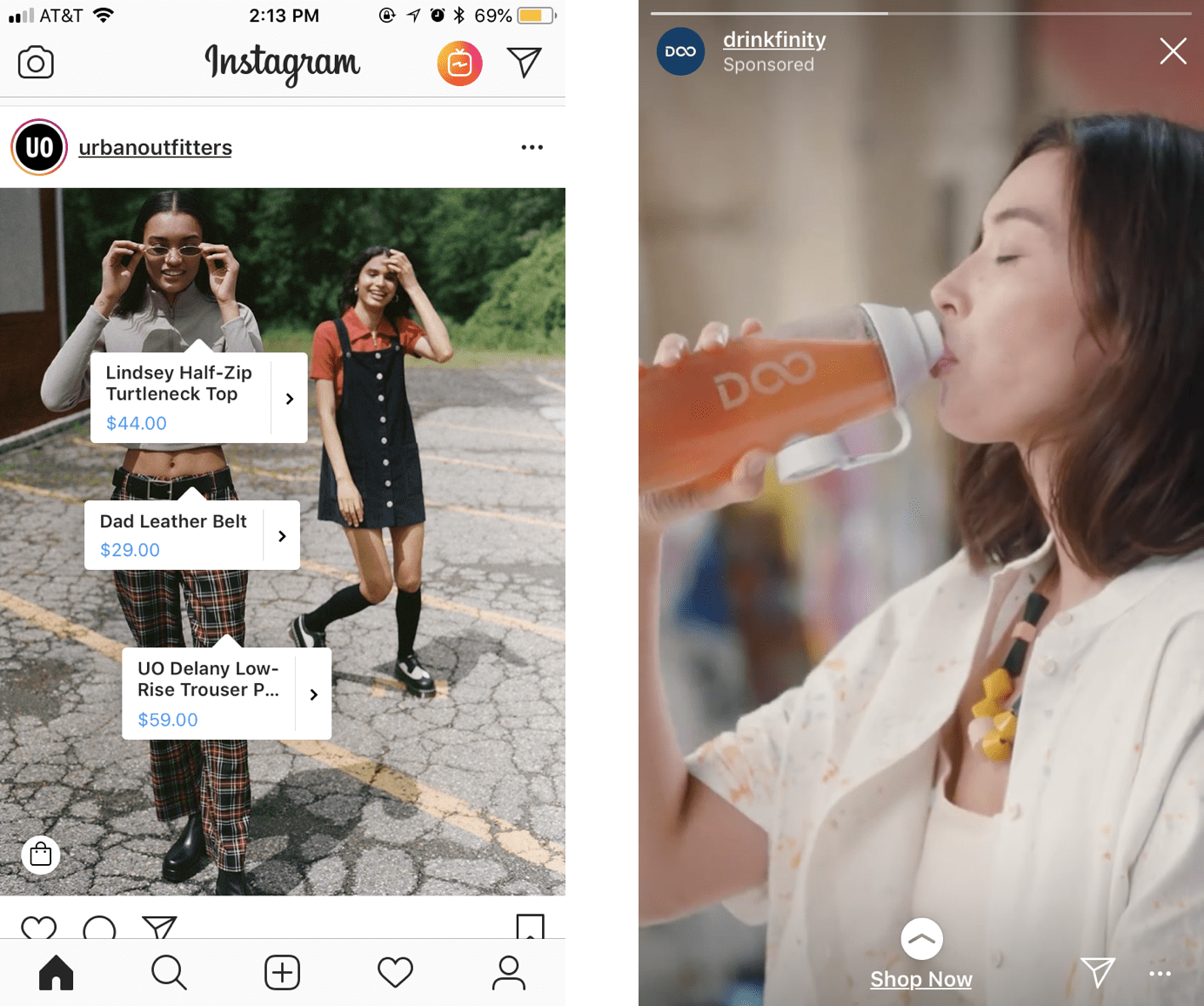 Instagram广告