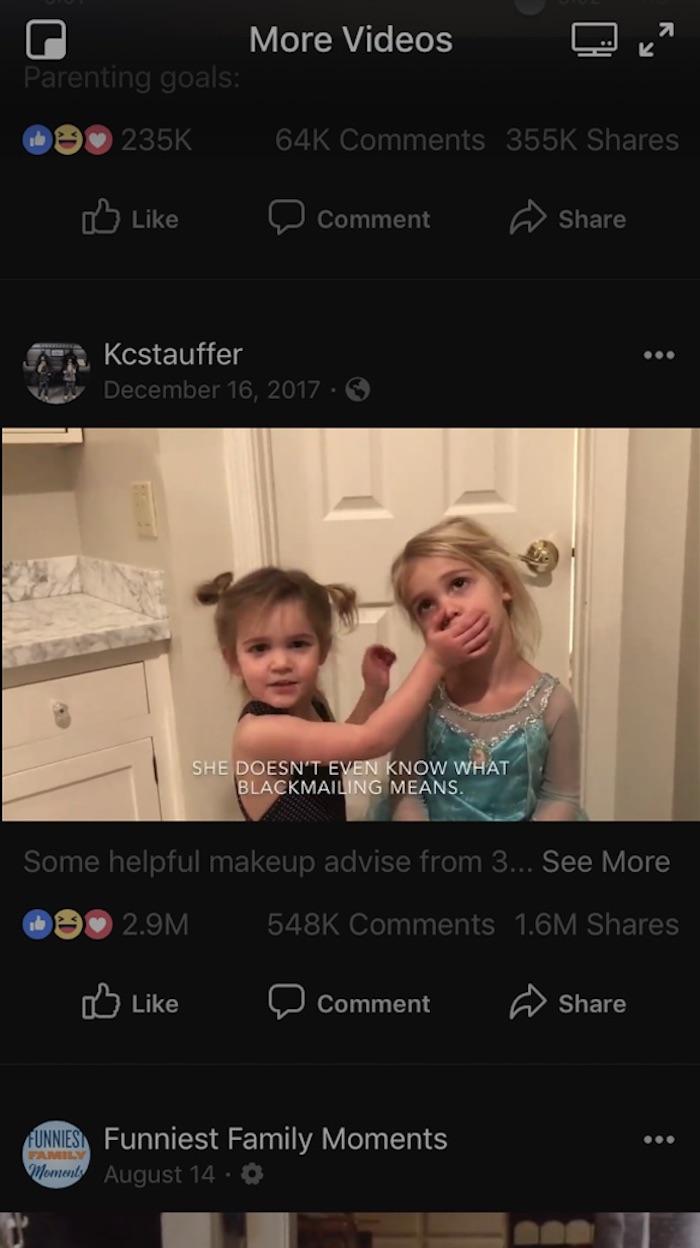 Facebook视频