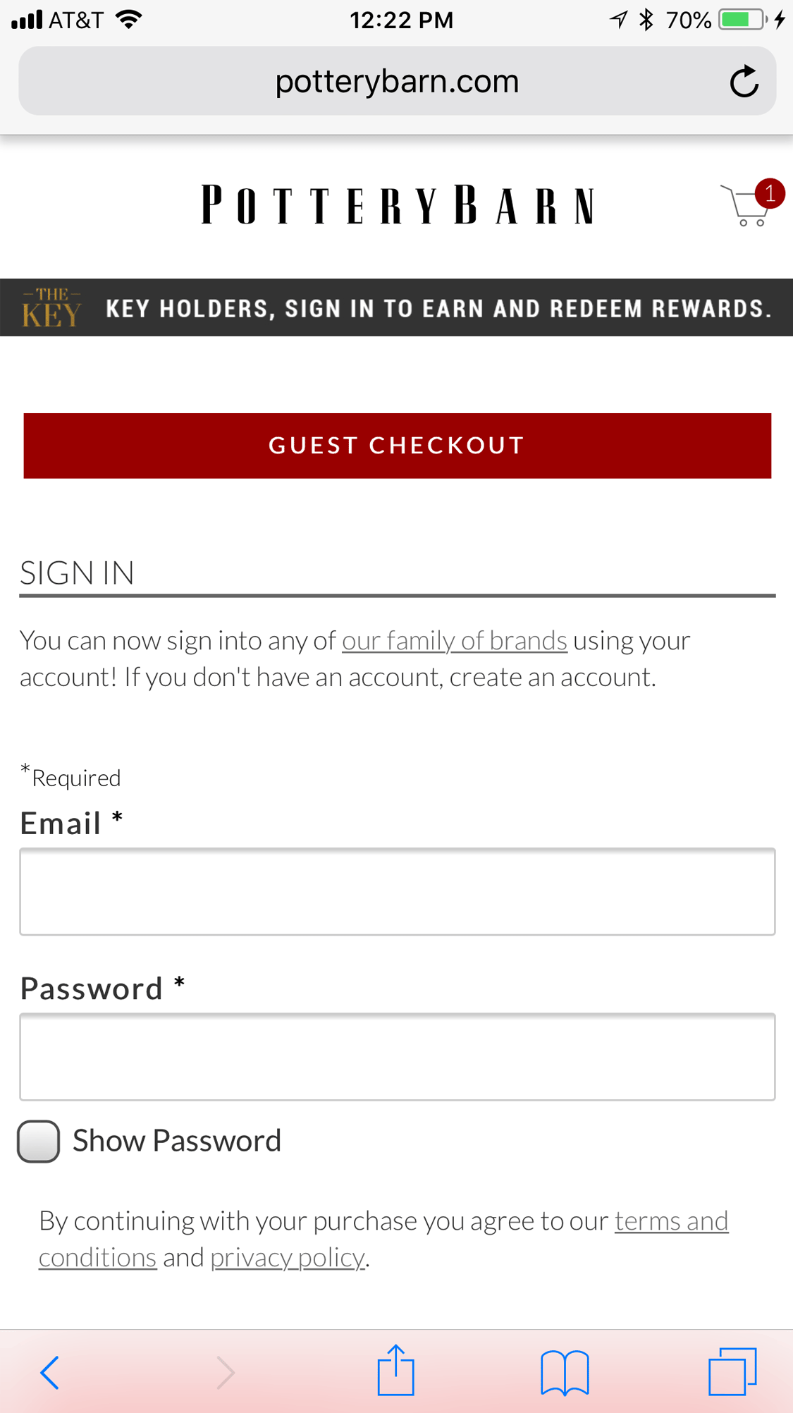 The Mobile Checkout Experience