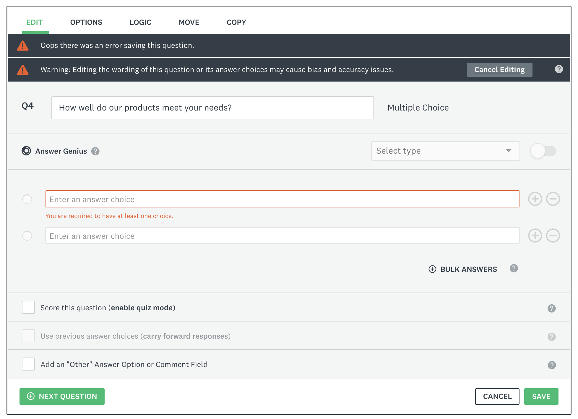 How to Report Errors in Forms: 10 Design Guidelines