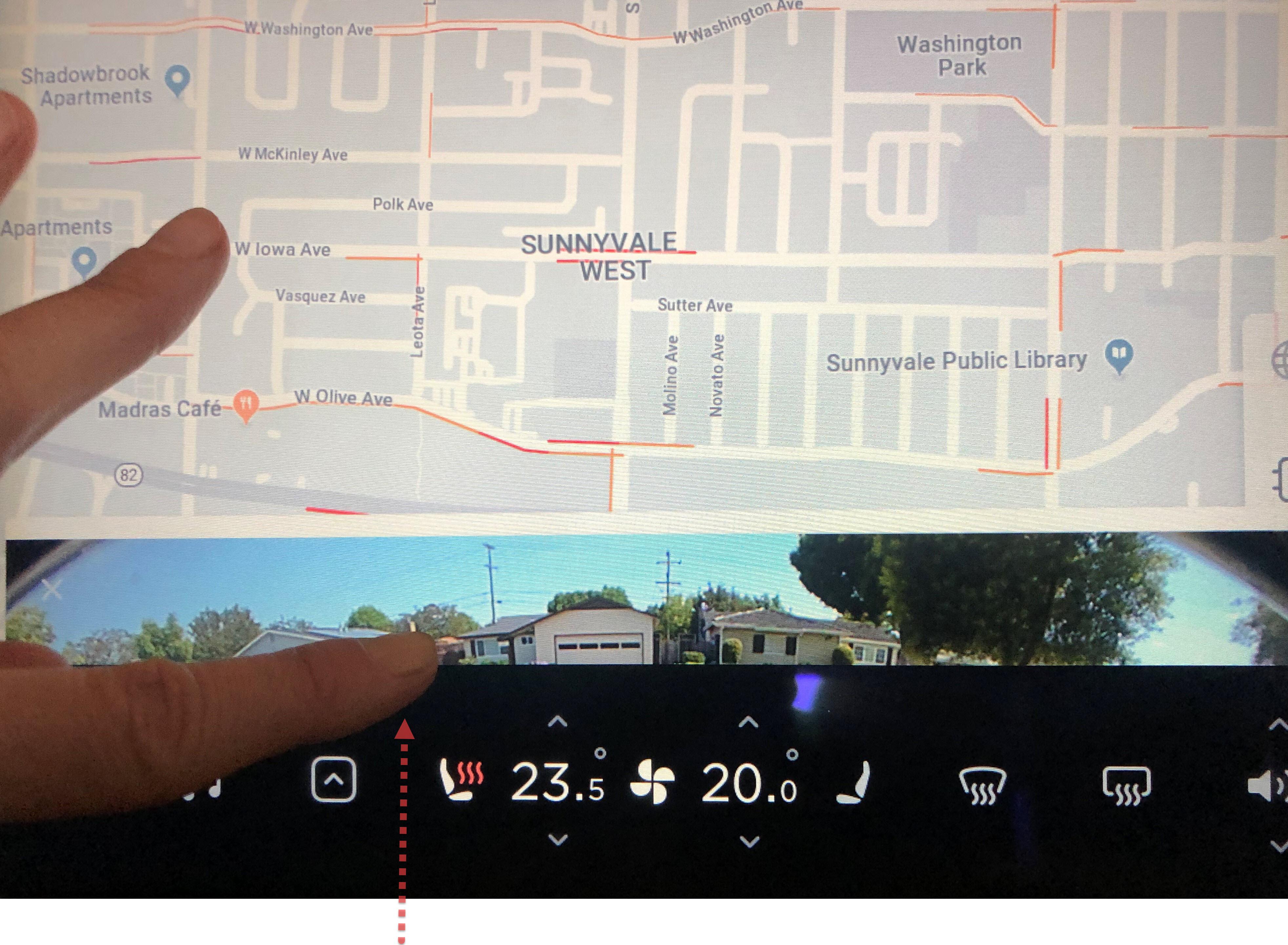 Tesla's Touchscreen UI: A Case Study of Car-Dashboard User