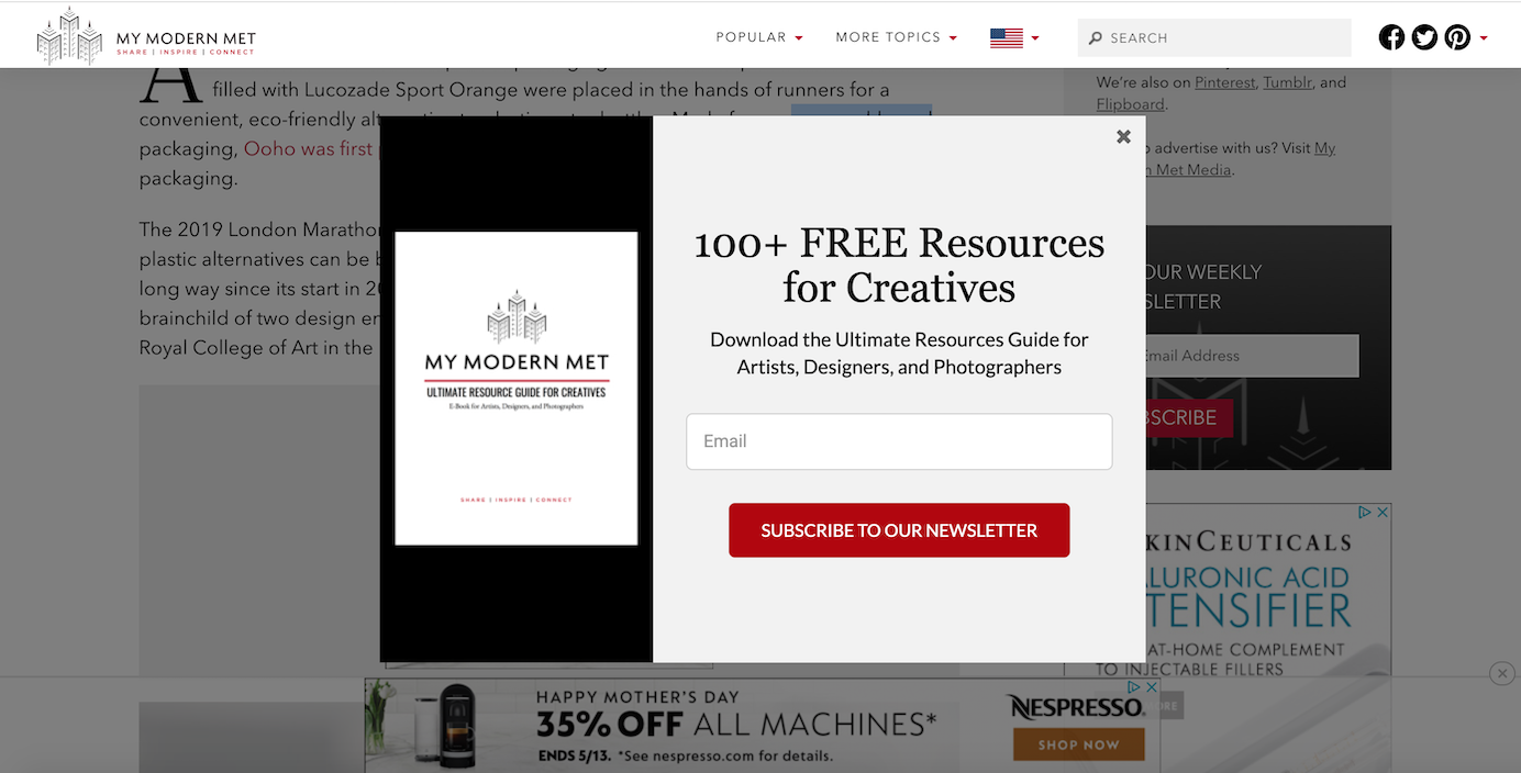10 Ways to Use Exit-Intent Popups for Good