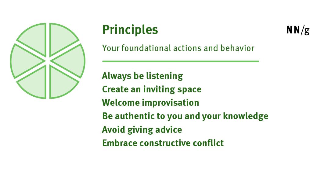 研讨会促进原则