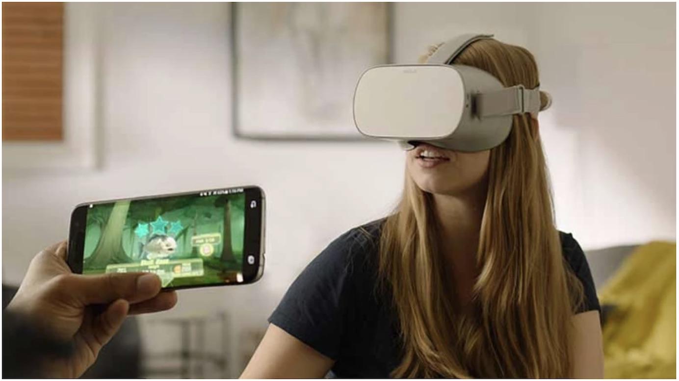 oculus耳机到手机