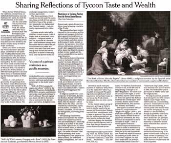 Scan of an arts article from The New York Times, as printed in the printed newspaper