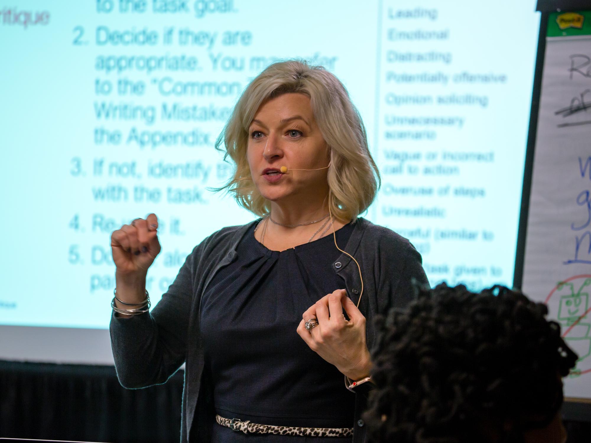 Kara Pernice, Senior VP at Nielsen Norman Group