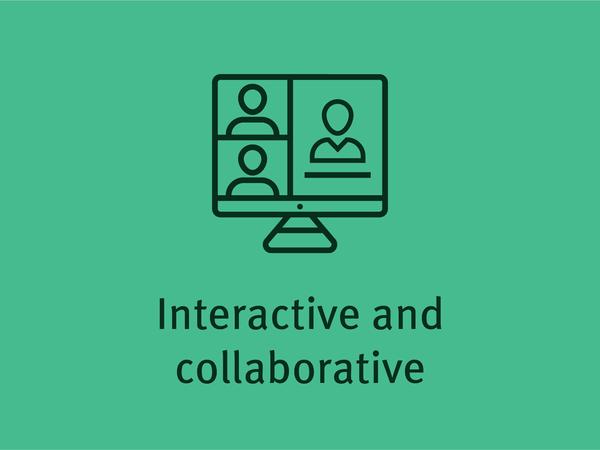 交互式和协作