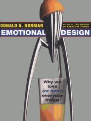 Emotional design book by don norman for Apple 300 dollar book