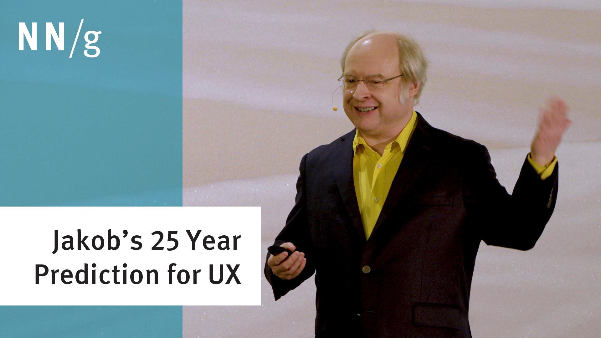 10 UX Challenges for the Next 25 Years (Jakob Nielsen Keynote) (Video)